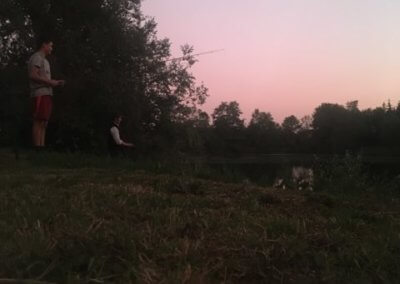 La botte des 7 lieux Partie de pêche à l'Étang d'Eve